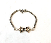 Silver Pendant Bracelet - LAST ONE!