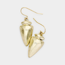 Metal Arrowhead Earrings: ONLY PAIR!