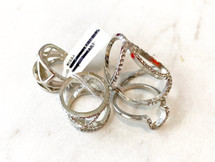 Silver Ring Set - ONLY ONE!