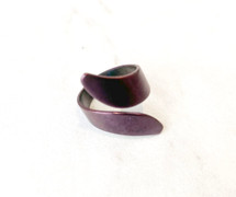 Purple Plated Wrap Ring: ONLY ONE EVER!