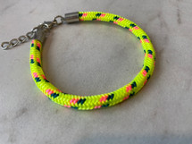 Yellow Rope Cord Bracelet: CLOSE OUT! Few LEFT!