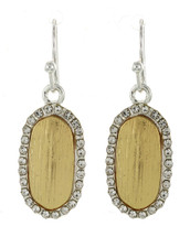 Gold/Silver Drop Earrings