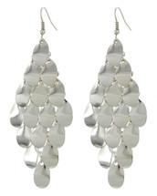 Silver Chandelier Drop Earrings
