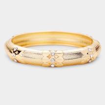 Versailles Bracelet: GOld Or Silver