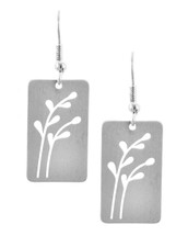 Branches Earrings: Gold Or Silver