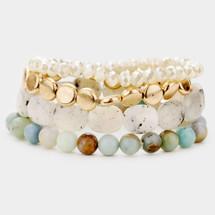Into The Woods Semi Precious Bracelet Set