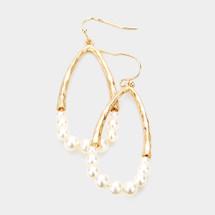 Pearl Chandelier Earrings: Gold Or Silver