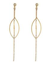 Chandelier Drop Earrings: Gold, Silver Or Rose