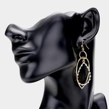 Wired Links Earrings