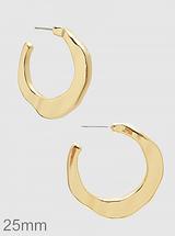 Jacinda Hoop Earrings: Gold Or Silver: LAST ONES!