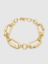 Oval Chain Links Bracelet