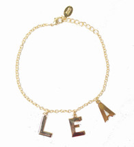 Three Initial Alphabet Bracelet