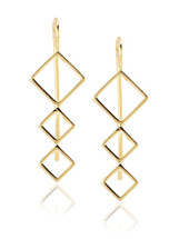 Carnaby Climbing Earring Pair - More Colors - As seen in US Weekly!