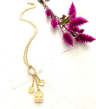 Zodiac Letter Necklace: Seen on TODAY - NEW VERSION!