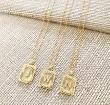 Sunburst Monogram Necklace - NEW! ADD TO CART