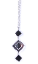 Mirrored Deveraux Long Necklace
