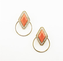Delano Hoop Earrings- more colors: Seen On Today Show!