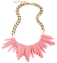 Daphne Necklace - BLUE -LAST ONE! - As seen in Bello Magazine!