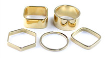 Jana Ring Set - Solid - More Colors: Seen on Today Show!