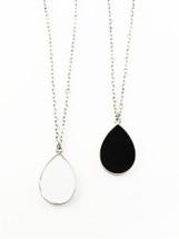 Lola Reversible Pendant Necklace: Seen on Teala Dunn at the Teen Choice Awards!