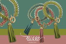 Leather Wrapped Tassel Bracelet - As seen on TV!