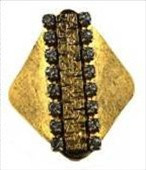 Aventine Jeweled Cobblestone Ring (More Colors) - As Seen On American Idol's Pia Toscano