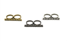 Cavalry Stacking Bar Ring - As seen on Alexis Knapp from Pitch Perfect and in The Stylist Handbook!