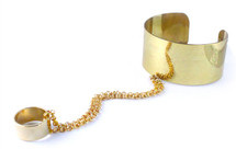 Chained Cuff  - more colors - As seen on Selena Gomez!
