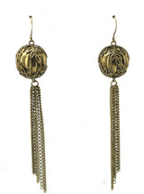 Deco Earring- GOLD - As Seen On The Red Carpet at the  VMA's!