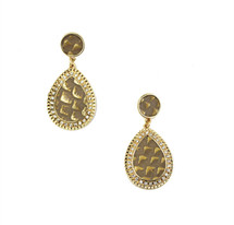Deco Teardrop Earrings- more colors