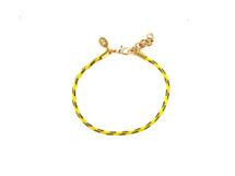 Dhara Rope Bracelet Yellow - As seen on TV!
