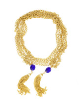 Eliza Tassel Wrap Necklace- More Colors