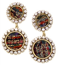 Georgina Jeweled Earring - more colors: seen on Becca Tobin!