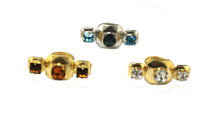 Hamilton Triple Jeweled Ring - more colors