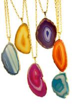 Ava Colored Stone Necklace