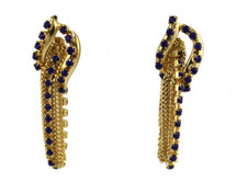 Jeweled Link Earring - As seen in Alegria Magazine - More Colors