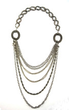 Mesh Link Collar Necklace