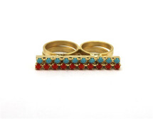 Jeweled Bar Ring - As Seen In Seventeen Magazine!
