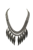 Feathered Necklace: Seen on Giuliana Rancic and in Chaos Magazine!