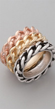 Large Chain Ring Set - As Seen In Vogue Magazine and on Greer Grammer!
