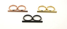 Single Bar Ring - more colors: Seen on Carrie Underwood!