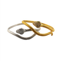Snake Bangle - As Seen on Jaslene Gonzalez and Olivia Holt!