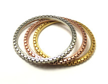 Serena Bangles - Set of 3 - As Seen on Chloe Lukasiak & In InStyle Magazine!