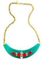 Sydne Jeweled Bib Necklace - more colors