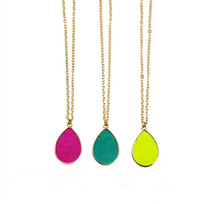Sydne Reversible Pendant Necklace - choose your colors