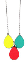 Sydne Multi Triple Pendant Necklace - more colors