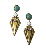 Ynez Jeweled Earrings (More Colors) - As Seen on Fashion Police and E! News Host Giuliana Rancic!