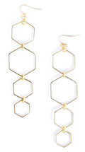 Octagon Quad Earring - More Colors