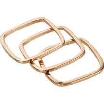 Rigby Ring Set of Three - Solid - More Colors - As seen on Actress Taylor Cole!