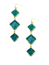 Raya Triple Drop Earring - more colors